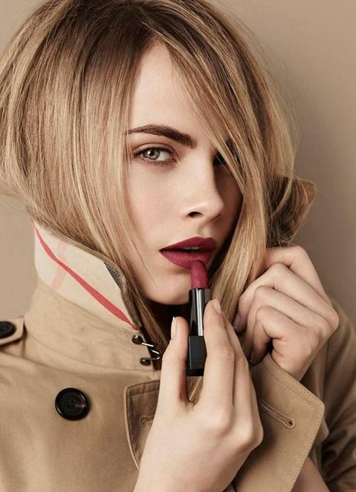 Cara Delevingne for Burberry Lip Velvet