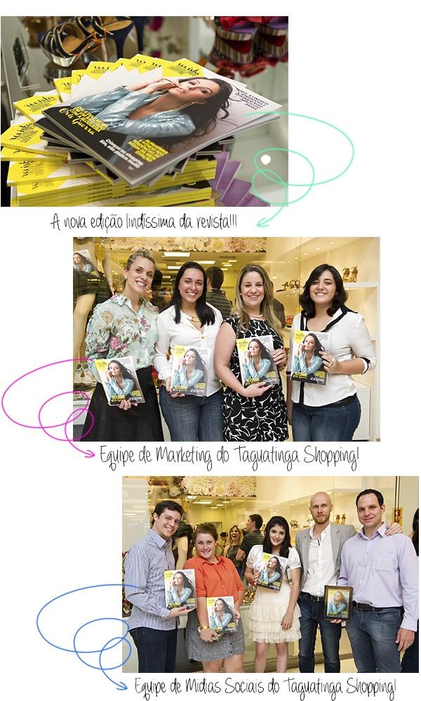 Lançamento da 2ª Edição da Revista Taguatinga Shopping!