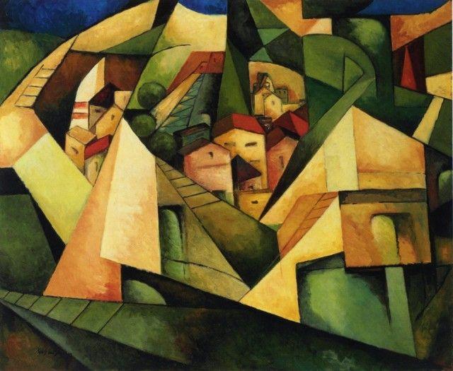 Albert Gleizes - Cubist Landscape