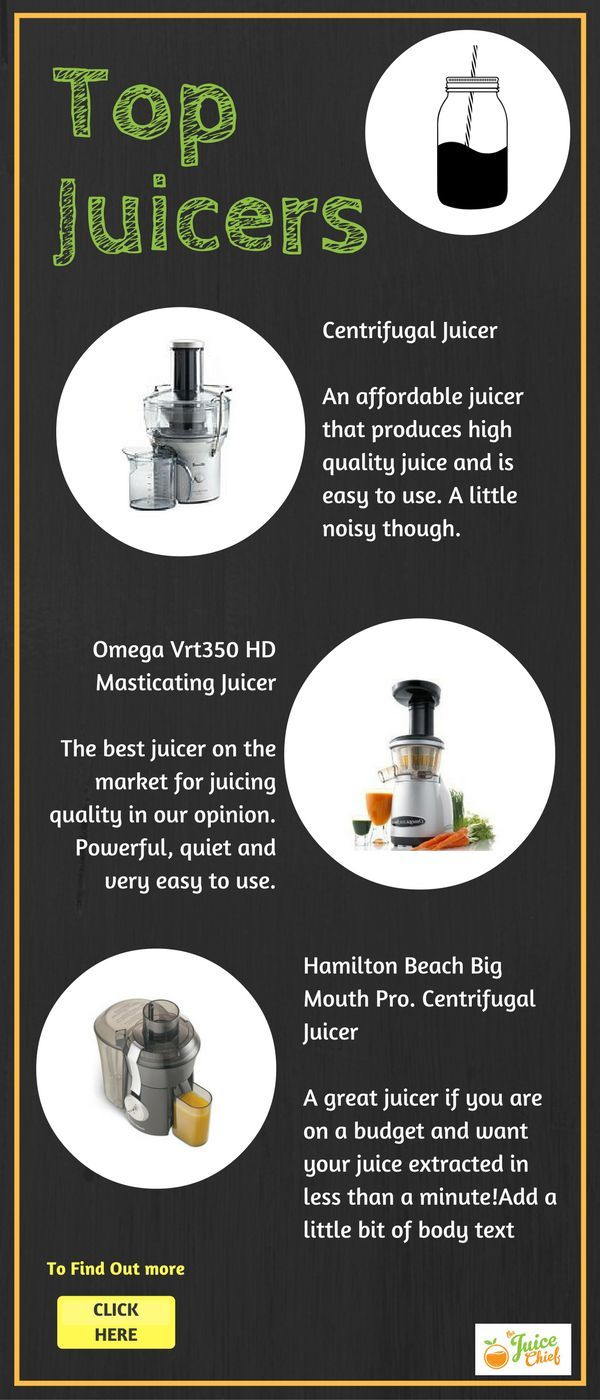 Top Juicers and Juicer reviews - The Juice Chief