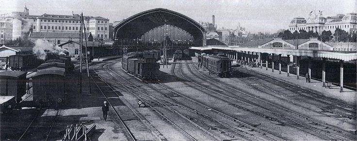 Estación de Mediodía,  Imágenes del viejo Madrid