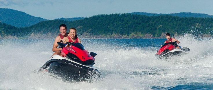 Jet Ski Tours in the Whitsundays   Hamilton Island Activities