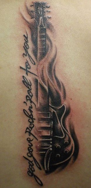 gibson les paul tattoos | Recent Photos The Commons Getty Collection Galleries World Map App ...