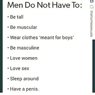 """that last one is so important """"not having the parts"""" does not mean the person isn't the gender they identify as"""
