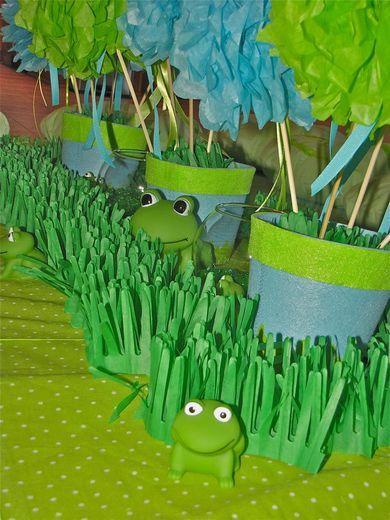 frog decor soooo cute!