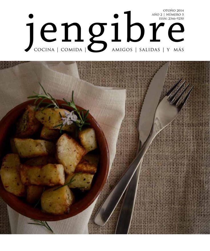 Revista Jengibre n5  Otoño 2014