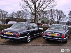 Bentley Arnage & Rolls-Royce Silver Seraph