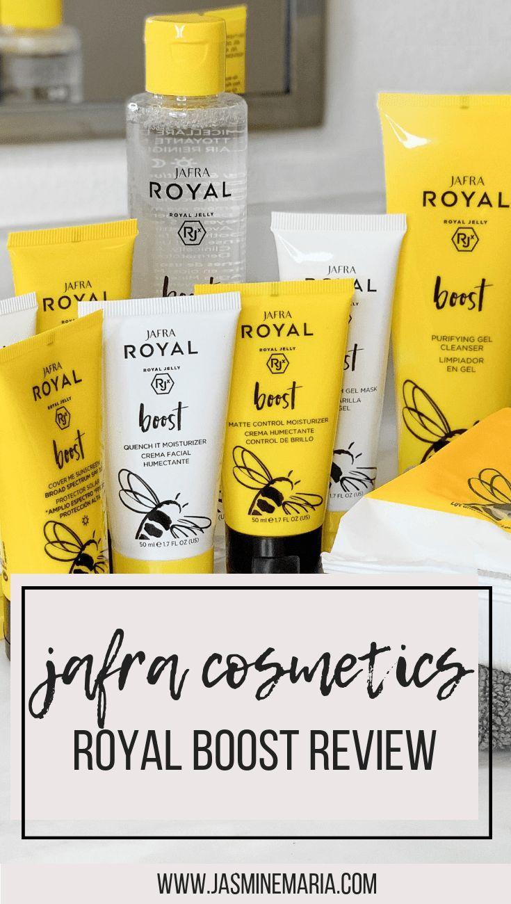 Jafra Royal Boost Natural Beauty Tips Skin Care Beauty Hacks Skincare