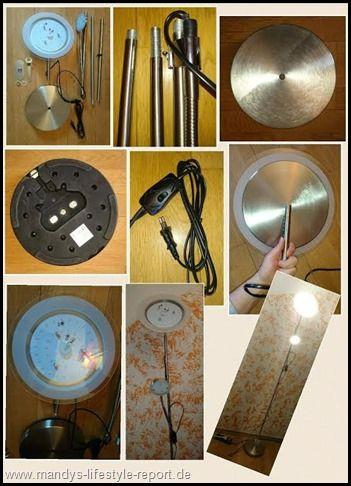LED Stehlampe-Deckenfluter mit Leselampe von B.K.Licht - Kreiere Dein Leben-Mandys Lifestyle Report