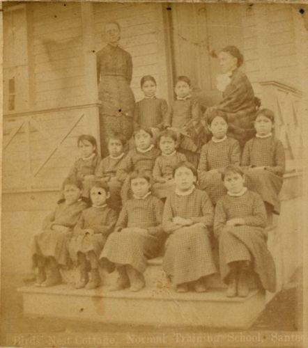 NATIVE-AMERICAN-GIRLS-SCHOOL-AGENCY-NEBRASKA-STEREOVIEW