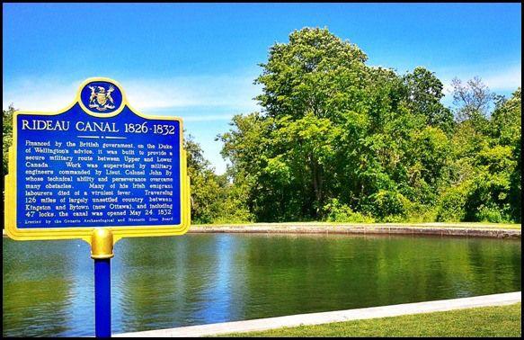 Kingston Mills, Rideau Canal, Kingston, Ontario