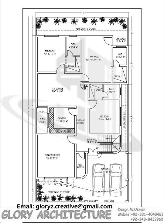 540 735 plans for House map drawing