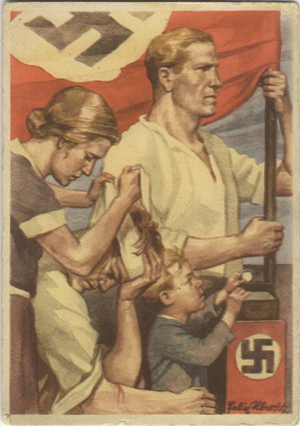 essay nazi propaganda Externally, the propaganda in america today is not as harmful as the propaganda in nazi germany, instead it eats away at societies' morals and self-esteem it is impossible to turn on the tv or even drive down the road without encountering propaganda.