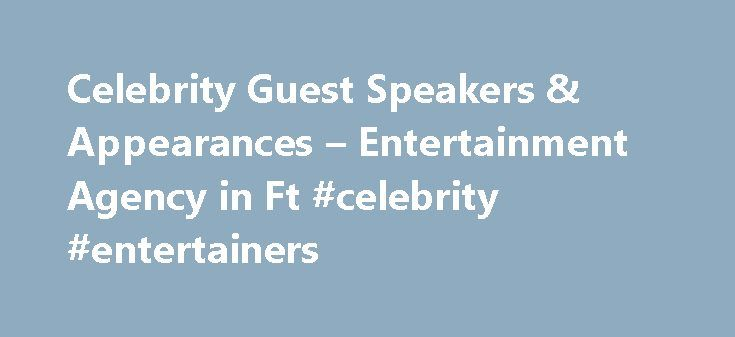 Speakers Bureau: Book Top Business, Keynote, Celebrity ...