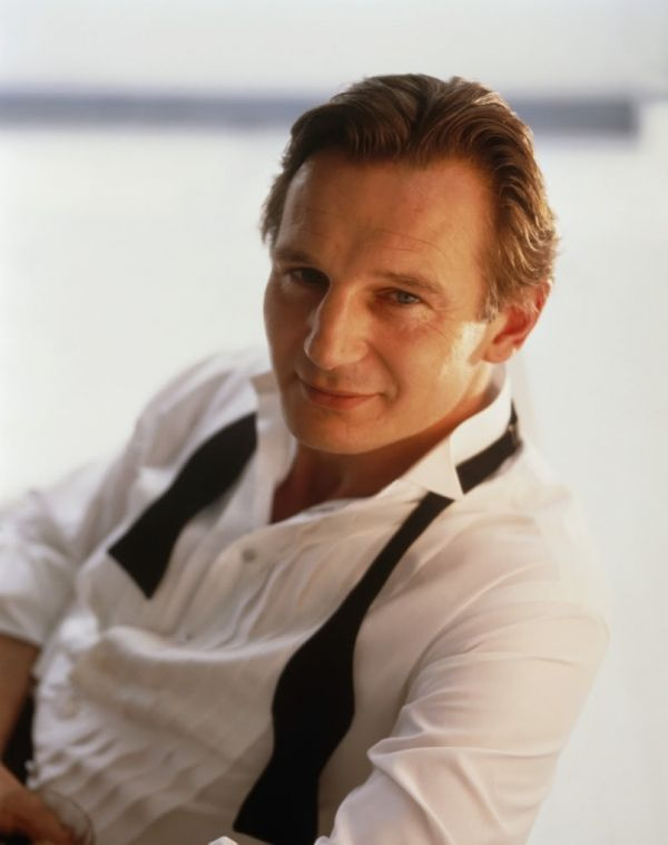 Liam Neeson so handsome for an older man