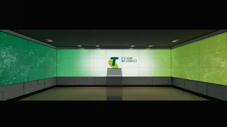 Telstra is Australias biggest telecommunication company. In their headquarter in Melbourne they opened a brandnew showroom to display their role in the development…