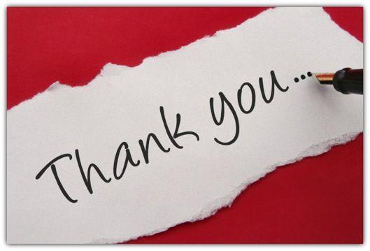 Diferentes maneiras de dizer obrigado.