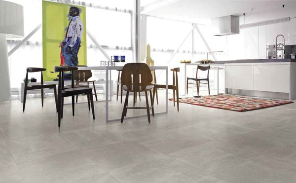 taupe/grey porcelain tiles