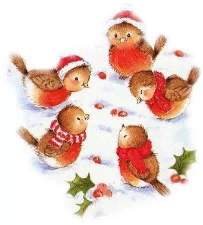 Happy Christmas Birdies