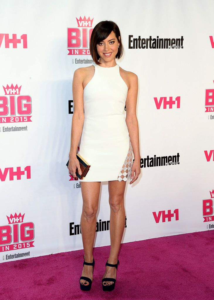 """daiilycelebs: """"  11/15/15 - Aubrey Plaza at the VH1 Big in 2015 with Entertainment Weekly Awards in West Hollywood. """""""