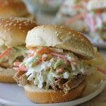 Permalink to: Raspberry Balsamic Glaze Pork Sliders with Coleslaw