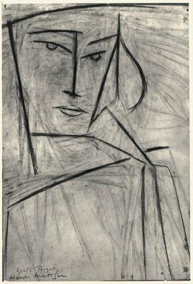 Henri Matisse / Greta Prozor, 1916. Image via MoMA.