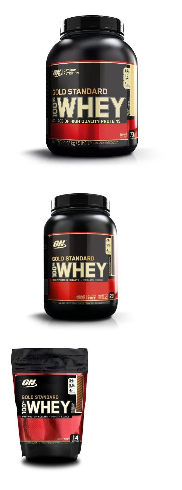 Energy Bars Shakes and Drinks: Gold Standard Whey Protein Isolate Powder 5 Pound, 2Lb, 1Lb By Optimum Nutrition -> BUY IT NOW ONLY: $44.99 on eBay!