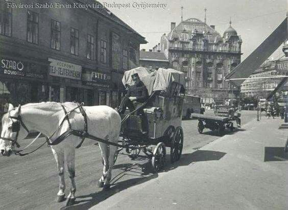 1930 körül, Ráday utca