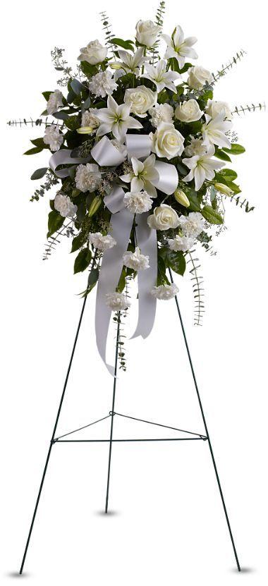White Floral Spray