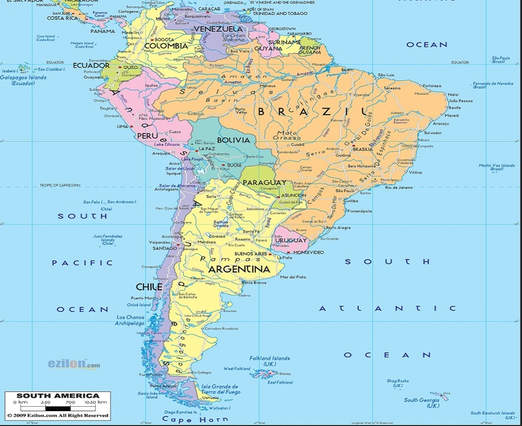 Best 25 South america map ideas on Pinterest World Country list and State