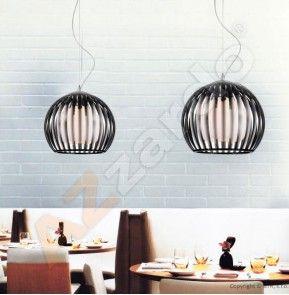 Lampa wisząca ARCADA L BLACK Azzardo  LP6013-1BL
