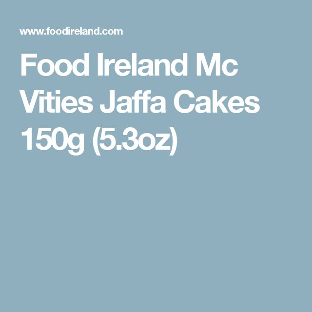 Food Ireland Mc Vities Jaffa Cakes  150g (5.3oz)