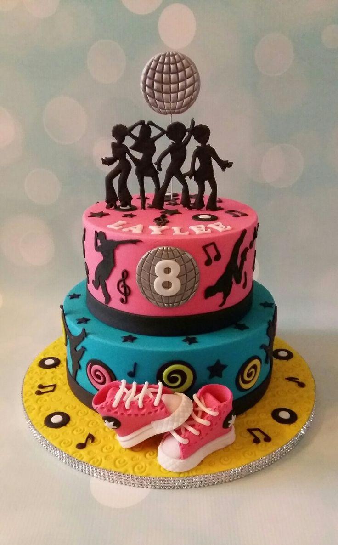 Disco/Breakdance cake