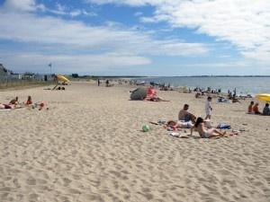 La plage des Bretons à la Turballe