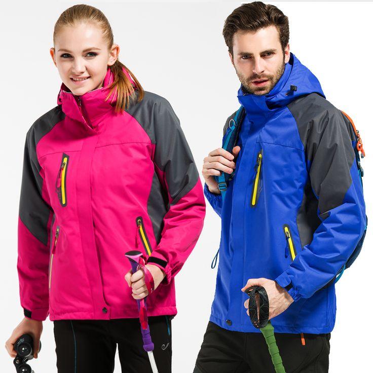 New Winter men Women Thermal jackets coats for men outdoors velvet Windbreaker male waterproof fleece tourism jacket windproof. Yesterday's price: US $153.26 (124.37 EUR). Today's price: US $61.30 (49.74 EUR). Discount: 60%.