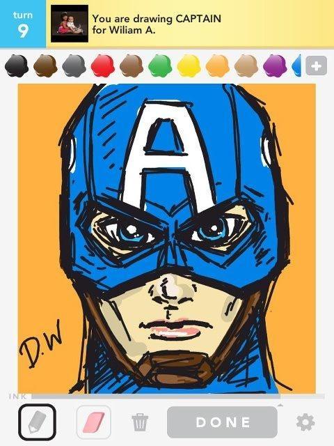 draw something! Captain AmericaReal Life, Avengers Captain, Nice Drawing, Epic Drawing, App Drawing, Captain America Drawing, America Mi, Best Of Drawing Something, America Bestofdrawsometh
