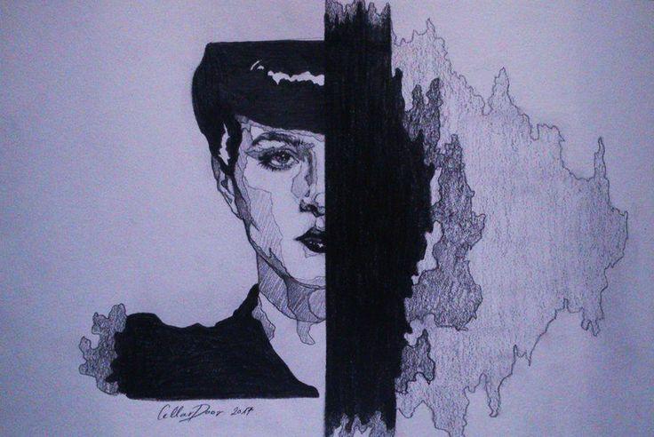 Rachel-Blade Runner by DarwiO