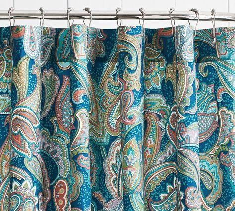 Die besten 25+ Badezimmer Duschvorhänge Ideen auf Pinterest - bad blau braun