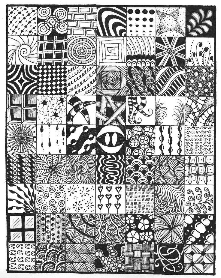 Line Art Zendoodle : Sampler doodle pinterest ford zentangles and doodles
