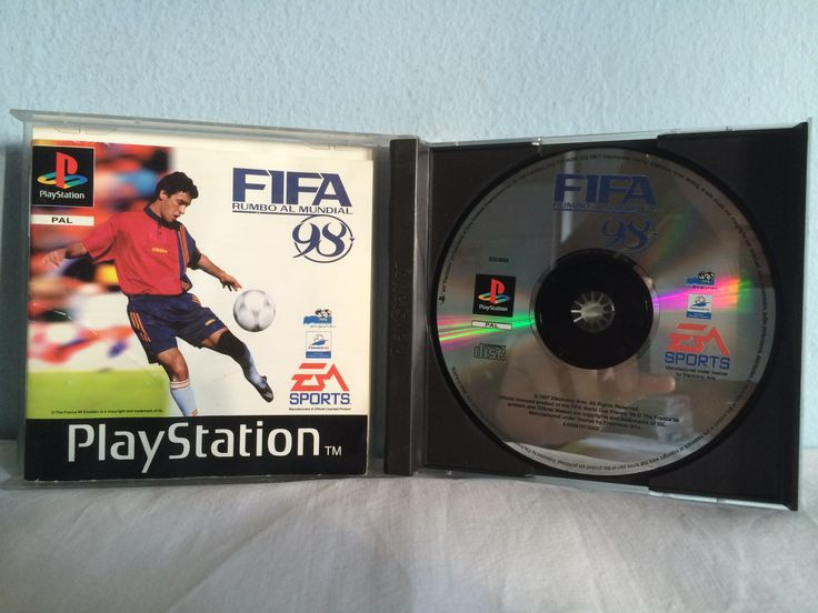 FIFA Rumbo al Mundial 98 game opened.