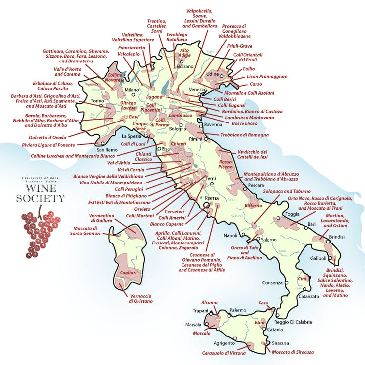 Wines of Italy - Recipes and Ramblings in Italy