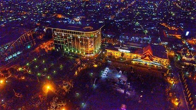 Selamat malam pekanbaru😍😍 . Photo by @ramadhanimam #explorepekanbaru