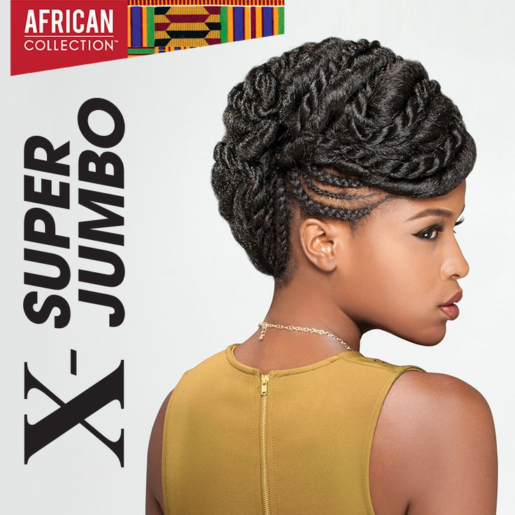 Sensationnel African Collection X Super Jumbo Braid