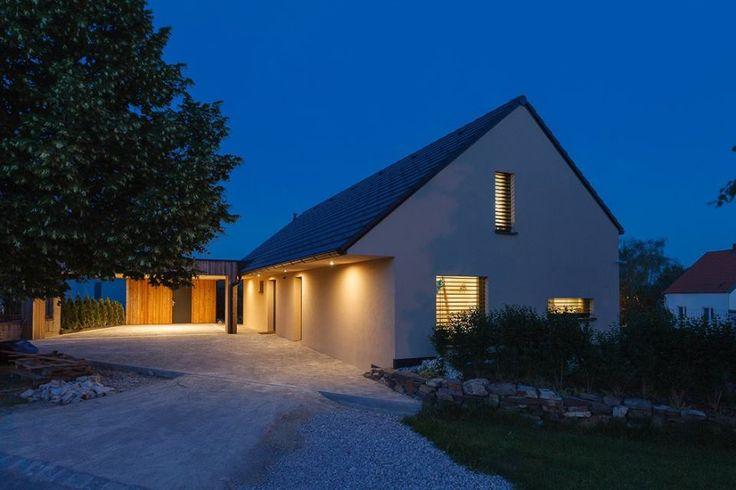 passivhaus | small | family | home | kalksandstein | two-storey house | berg | austria |