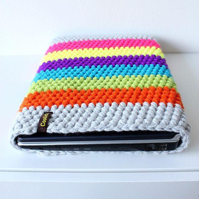 Crocheted Laptop Sleeve