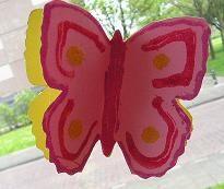 Dubbele vlinder - Knutselen!