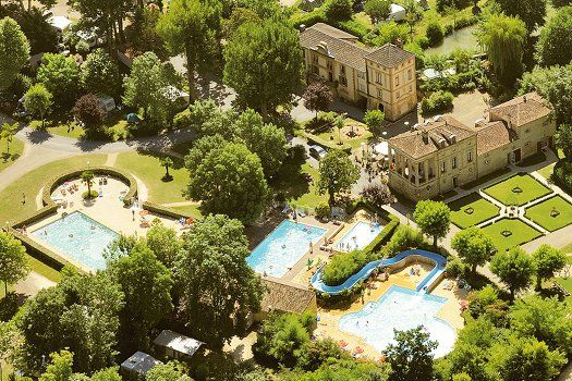 Camping Le Moulin de la Pique, Belvès, Frankrijk. 1ste camping zomer 2015.