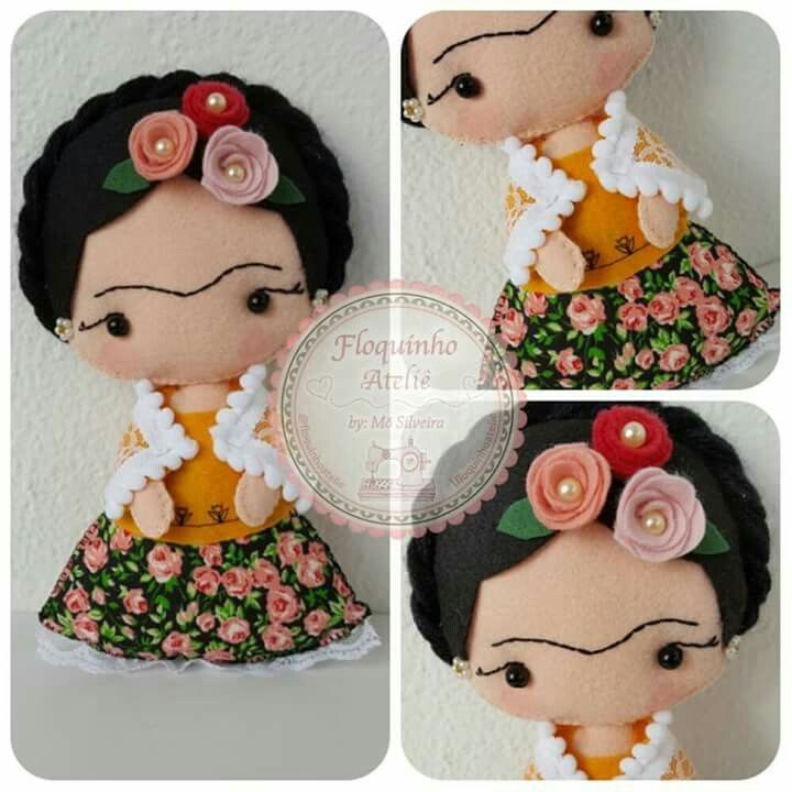 Frida em feltro