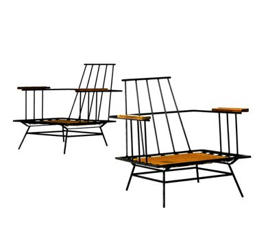 Gorgeous Paul McCobb chairs. Inspiration. Love.