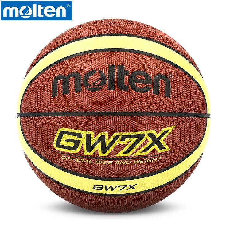 original Molten basketball ball Size7 Sze6 Size5 GW7X GW76X GW5X Brand High Quality PU material Official inside and ourside ball